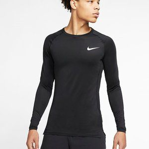 NIKE DRI-FIT FITTED long sleeve